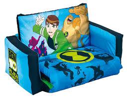 Kids Flip Open Sofa by Ben 10 Alien Force Flip Out Sofa Amazon Co Uk Kitchen U0026 Home