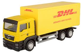 100 Diecast Truck Models Amazoncom RMZ City 164 MAN DHL Container Collection