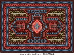 Traditional Turkish Carpet Motifs