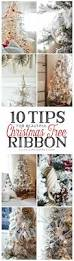 7ft Pencil Christmas Tree Michaels by 10 Tips For Beautiful Christmas Tree Ribbon Ella Claire