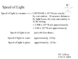 light 001 speed
