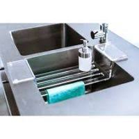 Simplehuman Sink Caddy Stainless Steel by Kitchen Sink Caddy Kitchen Xcyyxh Com