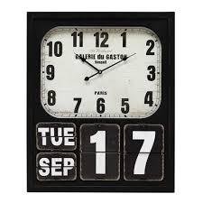horloge chambre bébé objet deco chambre bebe 12 horloge et calendrier en m233tal