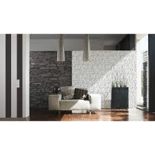 a s creation vliestapete elegance 3 streifen schwarz weiß