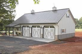 Morton Buildings garage in North Carolina Garages