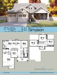 100 Simpsons House Plan Simpson 15 Story Craftsman