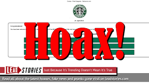 Fake News: Starbucks Is NOT Giving Free $50 Coupon Per ... Tim Hortons Coupon Code Aventura Clothing Coupons Free Starbucks Coffee At The Barnes Noble Cafe Living Gift Card 2019 Free 50 Coupon Code Voucher Working In Easy 10 For Software Review Tested Works Codes 2018 Bulldog Kia Heres Off Your Fave Food Drinks From Grab Sg Stuarts Ldon Discount Pc Plus Points Promo Airasia Promo Extra 20 Off Hit E Cigs Racing Planet Fake Coupons Black Customers Are Circulating How To Get Discounts Starbucks Best Whosale