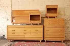 Kent Coffey Blonde Dresser by Liberty U0026 33rd Mid Century Modern Blond 6 Piece Bedroom Set By