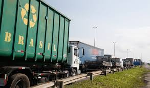 100 Truck Strike Drivers Strike And Death Of Animals