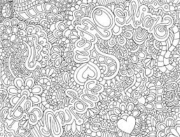 Detailed Coloring Pages Adults Printable Kids Colouring