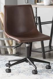 Top 10 Punto Medio Noticias | Industrial Desk Chair Brown