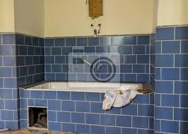 fototapete altes ddr badezimmer