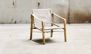 5 Favorites: Scandinavian Canvas And Wood Chairs - Remodelista
