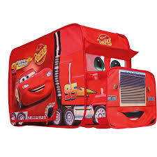 Disney 167CCC Cars Mack Truck Playhouse - Pop Up Role Play Tent ... Cars Disney Mack Truck Lightning Mcqueen Red Deluxe Tayo Playset Buy Online Pixar 2 Toys 2pcs City Cstruction Disneypixar And Transporter Azoncomau Truck Cake Cars Pinterest Cakes Hauler Wood Collection Toysrus Semi Lego Macks Team Itructions 8486 Amazoncom Action Drivers Games Mattel And Multi Cake Cakecentralcom Jada 124 Wb Metals Disney Pixar Cars Mack 98103 Brickreview