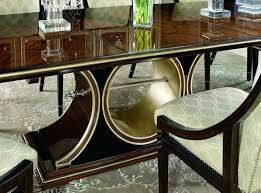Art Deco Dining Room Chairs Buffet With Geometric Marquetry And Marble Furniture
