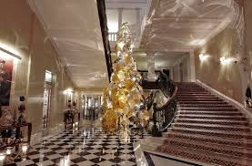 Claridges Tree Unbelievable Umbrella Christmas