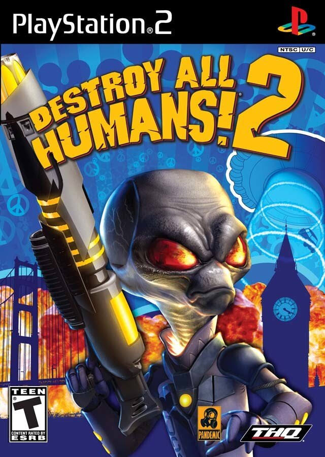 Destroy All Humans 2 - PlayStation 2