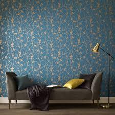 meiying teal wallpaper grahambrownuk tapete petrol