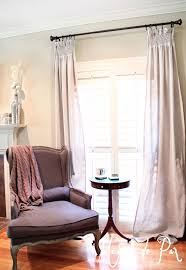 Smocked Burlap Curtain Panels by Diy Smocked Curtains Maison De Pax
