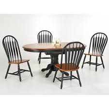 Falls Creek Black And Cherry Oval Single Pedestal 5 Piece ... Cophagen 3piece Black And Cherry Ding Set Wood Kitchen Island Table Types Of Winners Only Topaz Wodtc24278 3 Piece And Chairs Property With Bench Visual Invigorate Sets You Ll Love Walnut Tables Custmadecom Cafe Back Drop Leaf Dinette Sudo3bchw Sudbury One Round Two Seat In A Rich Finish Sabrina Country Style 9 Pcs White Counter Height Queen Anne Room 4 Fniture Of America Dover 6pc Venus Glass Top Soft
