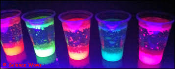 Glow In The Dark Lava Lamp Lighting And Ceiling Fans Bubble Bottles Diy Lamps