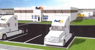 100 Fed Ex Trucking Construction Begins On Huge Oak Creek Truck Terminal
