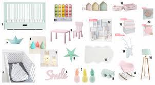 accessoire chambre bébé gazette d une maman le deco pastel chambre bebe
