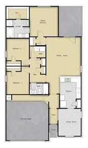 3 br 2 ba 1 story floor plan house design for sale houston tx