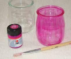 que faire avec des pots de yaourt en verre un photophore avec un pot de yaourt and co