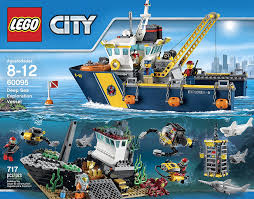 amazon com lego city deep sea explorers 60095 exploration vessel
