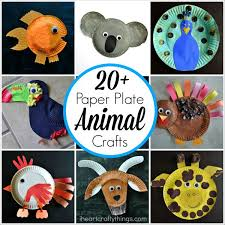 Here Are More Than 20 Paper Plate Animal Crafts For Kids That Sure To Put A Big Smile On Face