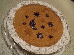 weihnachtliche linzer torte