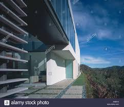 100 Residence Bel Air Oshry California Exterior With Footbridge Stock