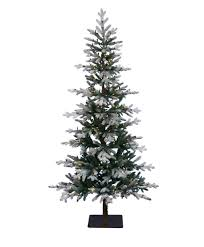9 Ft Slim Christmas Tree Prelit by Clifton Pine Artificial Christmas Tree Tree Classics