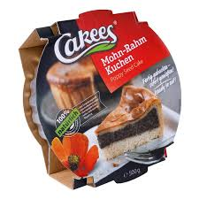 cakees mohnkuchen mit rahmdecke 500g
