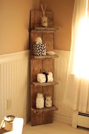 Basic Wood Shelf Design by I Made A Small Pallet Shelf To Fit In A Small Bathroom Just So