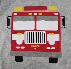 Truck Boys Pajamas Toddler Sleepwear Clothes T Shirt Pants Set For ...