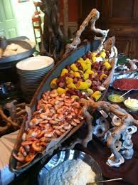 Crawfish Boil Table Decorations by Put The Low Country Boil In The Metal Tubs And Have The Difference