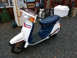 Honda Lead Nh 125 Classic Retro Scooter