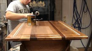 Applying Polyuethane On Table.wmv - YouTube Chevron Design Table Matching Bench Table Has An Epoxy Top To Handmade Custom 11 Foot Long Live Edge Walnut Bar Top By Teraprom Reclaimed Wood Covered With Resin Fogliart 95 Best Diy Epoxy Kitchens Countertops And Coatings Images Metallic Countertop Coating Using Leggari Products Product 1g Fx Poxy Countertop Craft Resin Uv Amazoncom Standard Fx With Resistant Tops Mirror Coat Bar Time Lapse Youtube