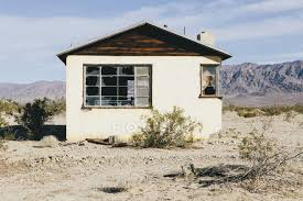 104 Mojave Desert Homes Abandoned Building In Damaged Ruins Stock Photo 125625646