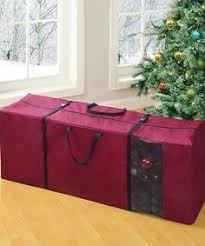5ft Christmas Tree Storage Bag by Artificial Christmas Tree Storage Bag Holiday Clean Up White Heavy