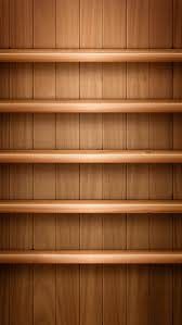 light brown wood shelves iphone 5 wallpaper woow pinterest