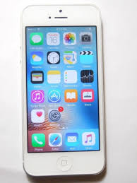 Apple iPhone 5 32GB White & Silver Verizon A1429 CDMA GSM