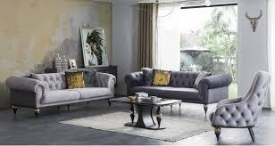 casa padrino luxus deco chesterfield wohnzimmer set 2 sofas 2 sessel 1 couchtisch mit glasplatte in marmoroptik edle deco wohnzimmer