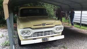 1960 Ford F100 Classic Pickup Truck - YouTube Vannatta Big Trucks Gmc Jeep History In The 1960s Autolirate 1960 Intertional Harvester B100 Ad White Heavy Duty Compact Ted Giavis Original Mercedesbenz Shortbonnet Trucks Wikipedia Chevrolet Ck Truck For Sale Near Cadillac Michigan 49601 Dodge D100 Hot Rod Network For Its Owner Studebaker Truck Is A True Champ Old Cars Weekly Mack B Model Tandem Axle Daycab For Sale 577113 Kick Back Cruisin Street Vintage Chev 0910cct Chevy Pickup Rear Bumper