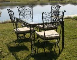 Vintage Woodard Patio Chairs by 51 Best Vintage Woodard Wrought Iron Images On Pinterest Wrought