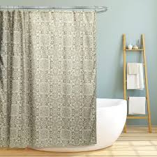 geometric pattern curtains canada bathrooms modern shower curtain yellow and white