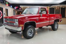 100 Old Chevy 4x4 Trucks For Sale 1987 Chevrolet Silverado Classic Cars For Michigan Muscle