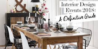 Interior Design Events 2018: A Definitive Guide - The LuxPad Free And Online 3d Home Design Planner Hobyme Home Interior Design Site Image Best Capvating Ideas For Fniture Top Fabulous Designing House Small Tiny Youtube 65 Family Room Decorating Tips For Rooms Feng Shui In Easy Steps Of Mrs Parvathi Interiors Final Update Full 101 Basics